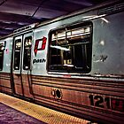 Port Authority Trans Hudson Train by pixog