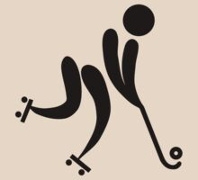 Roller Hockey Icon by cadellin