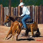 Quarter Horse Cutting Horse by Oldetimemercan