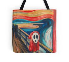 The Scream... with a Shy Guy Tote Bag