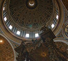 Dome of Saint Peter's Basilica by donberry