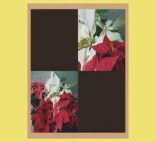 Mixed color Poinsettias 3 Blank Q3F0 Kids Clothes