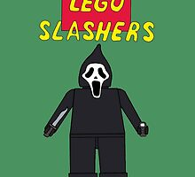 Lego Slashers: Ghostface by BonesteelKIC