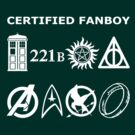 Certified Fanboy T-Shirt by fairy911911