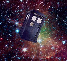 Tardis In Space- fixed by fuzzy-potato