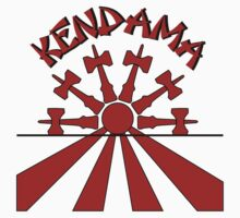 Kendama Sun, red by gotmoxy