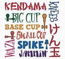 Kendama Word Block by gotmoxy