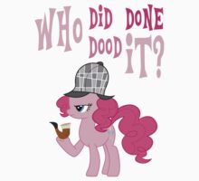Pinkie Pie: Who Did Done Dood It? by J4YStudios