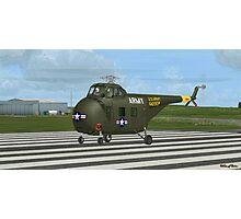 Sikorsky H-19 Chickasaw Photographic Print