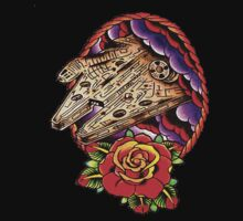 Millennium Falcon Flash by apocalypsebob