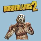 Psycho + Borderlands Logo by The Flaming  Potato