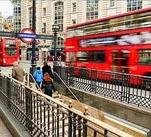 London Transport by Wayne Gerard Trotman