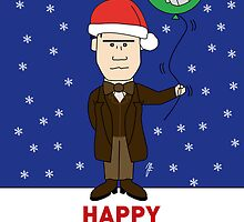 Doctor Who Xmas Card 2013 by mjfouldes