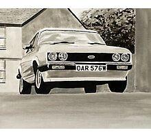 'The Professionals' Mk.3 Ford Capri 3.0s Photographic Print
