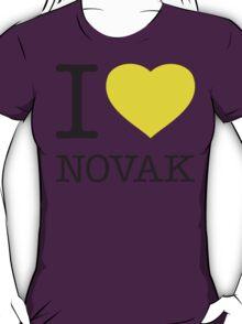 I ♥ NOVAK T-Shirt