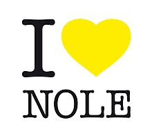 I ♥ NOLE Photographic Print