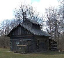 Chippewa Nature Center - Homestead Farm Sugarhouse by Francis LaLonde
