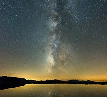 Milky Way Over Middle Gaylor Lake by Robert Darby