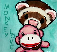 Monkey Love by Shelly  Mundel