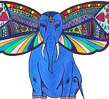 Elephant Butterfly  by Riley J. Broadbent
