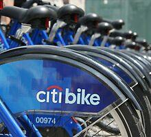 Bike rack New York by graceloves