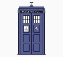 The TARDIS (sticker) by redscharlach