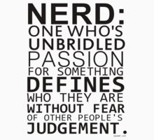 NERD definition by Turkey0guz