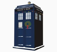 Christmas Tardis - Dr Who by Posteritty