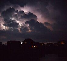 Lightning on the Sound 2 by KayZeg