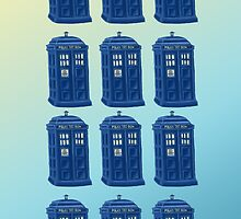 Tardis Repeated by awesomegerog