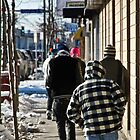 Walking West on Lake Street by Mark Jackson