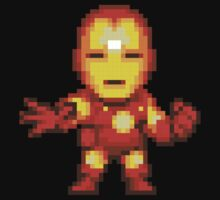 Ironman. Pixel art. by Bodera