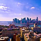 A View from Dumbo - NYC by Madeline Bush Ellis