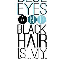 Magnus Bane: Blue Eyes and Black Hair 2 by ffiorentini