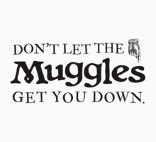 Don't Let The Muggles Get You Down | Harry Potter by Jayme Brown