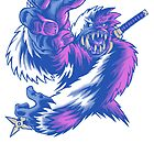 Just the Ninja Yeti by cs3ink