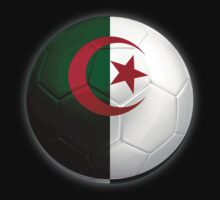 Algeria - Algerian Flag - Football or Soccer 2 by graphix