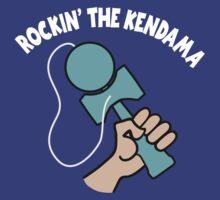 Rockin the Kendama, lt blue by gotmoxy