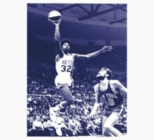 Julius Erving X Phil Jackson by Raffi Asheghie