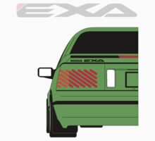 NISSAN EXA GREEN by Cat Games Inc