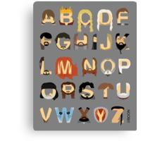 GoT Alphabet Canvas Print