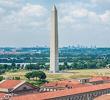 Washington Monument by Ray Warren