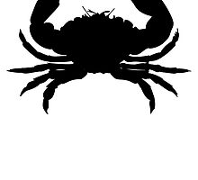 Crab Silhouette by kwg2200