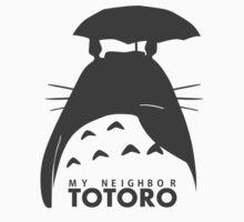 Totoro by OneRiceForLife
