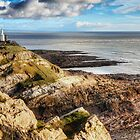 The Mumbles Lighthouse by Simon West