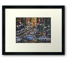 Rush Hour II Framed Print
