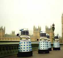 Daleks In London by dudesamld