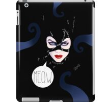 MEOW - Catwoman iPad Case/Skin