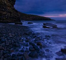 Dunraven bay at first light by Guy  Berresford