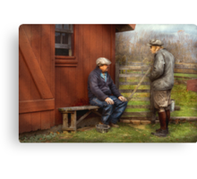 Country - The farm hands Canvas Print